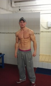 natural fitness male model