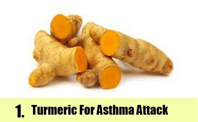 turmeric for asthma