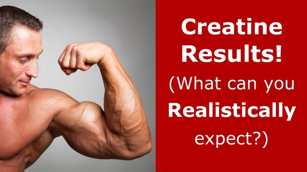 creatine results