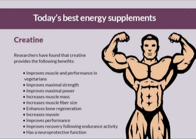 benefits of creatine